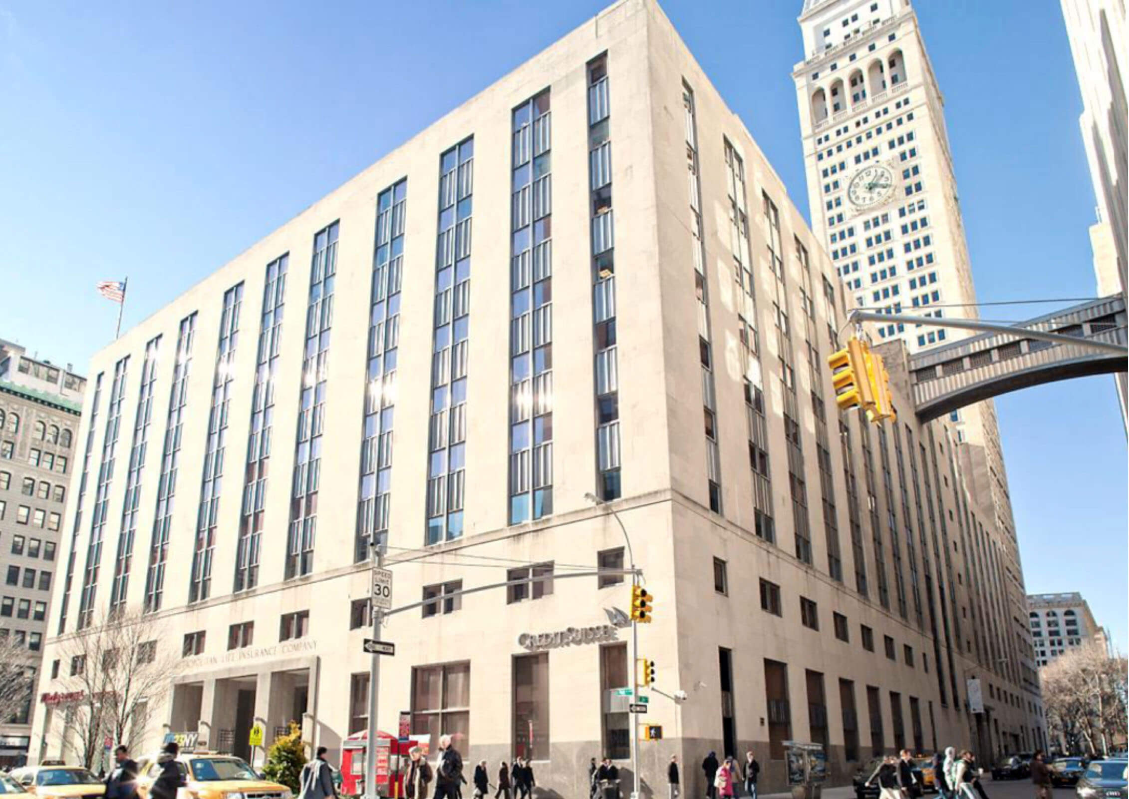 SLG Acquires One Madison (Inclusive of the Clock Tower) from MetLife, representing the first trade since the property was built.