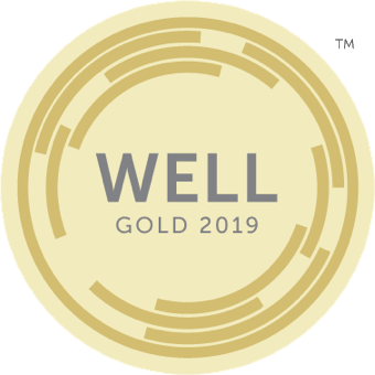 WELL Building Standard Gold badge