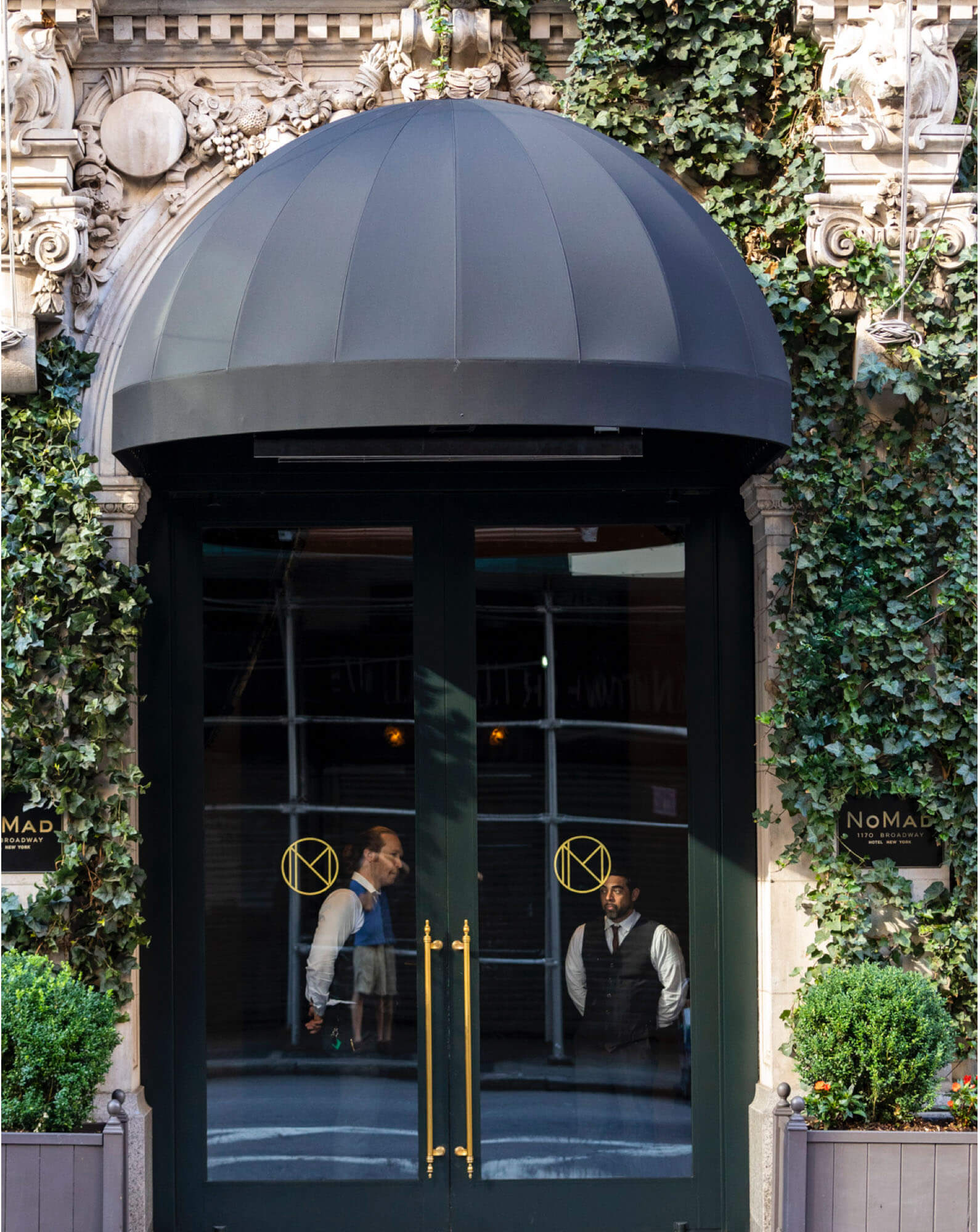 The entryway of the NoMad Hotel