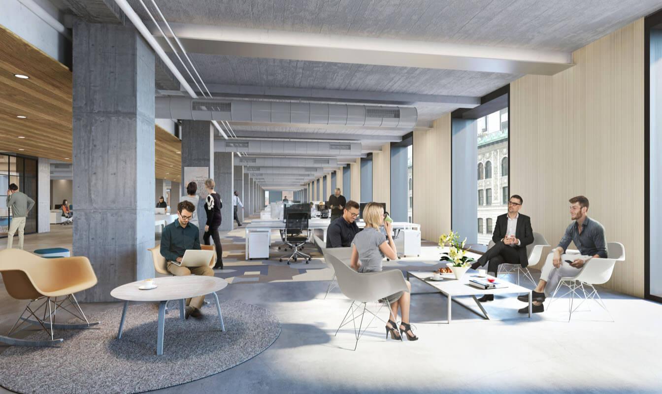 Office Space Stack Plan Podium Image