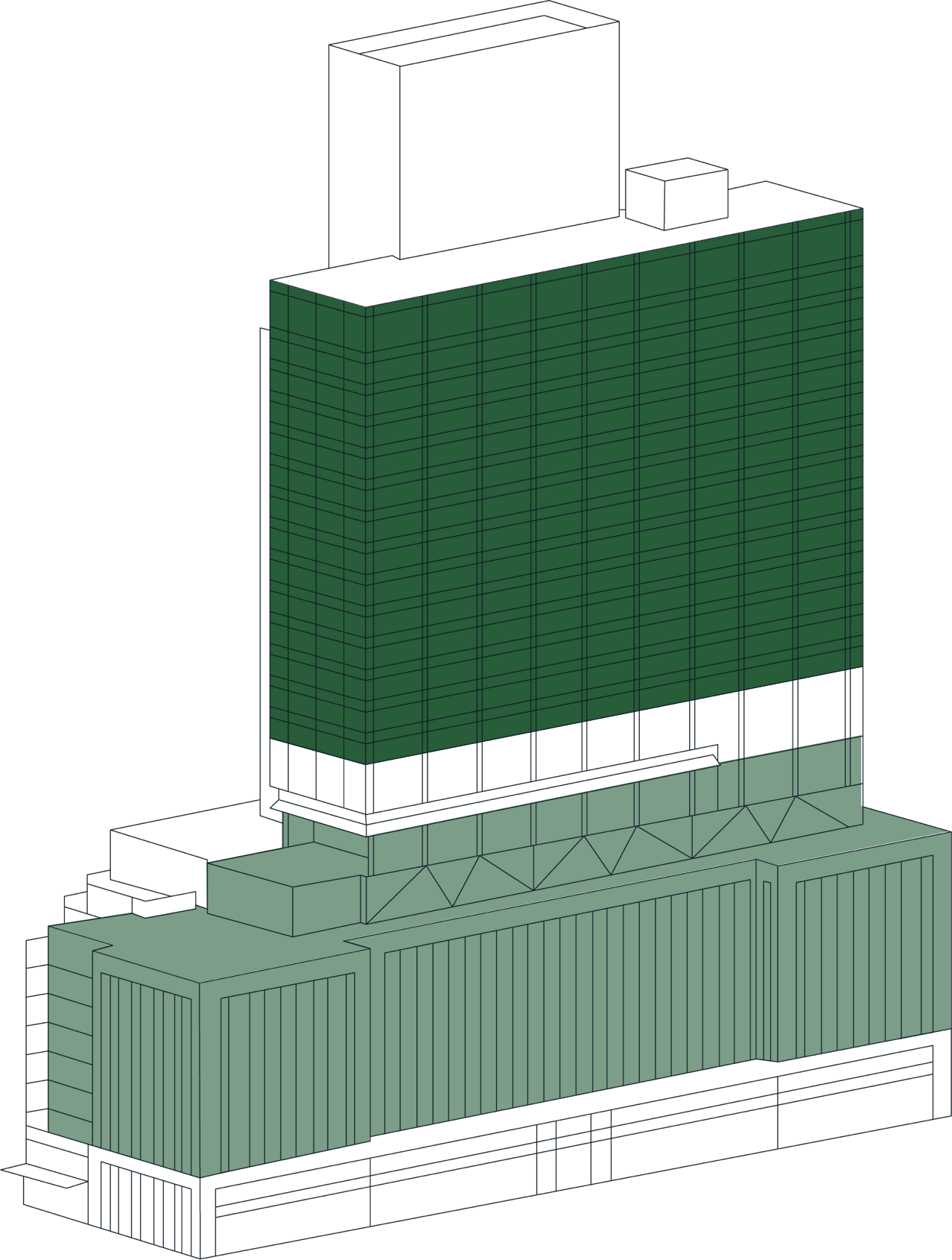 Office Space Stack Plan Tower Selected