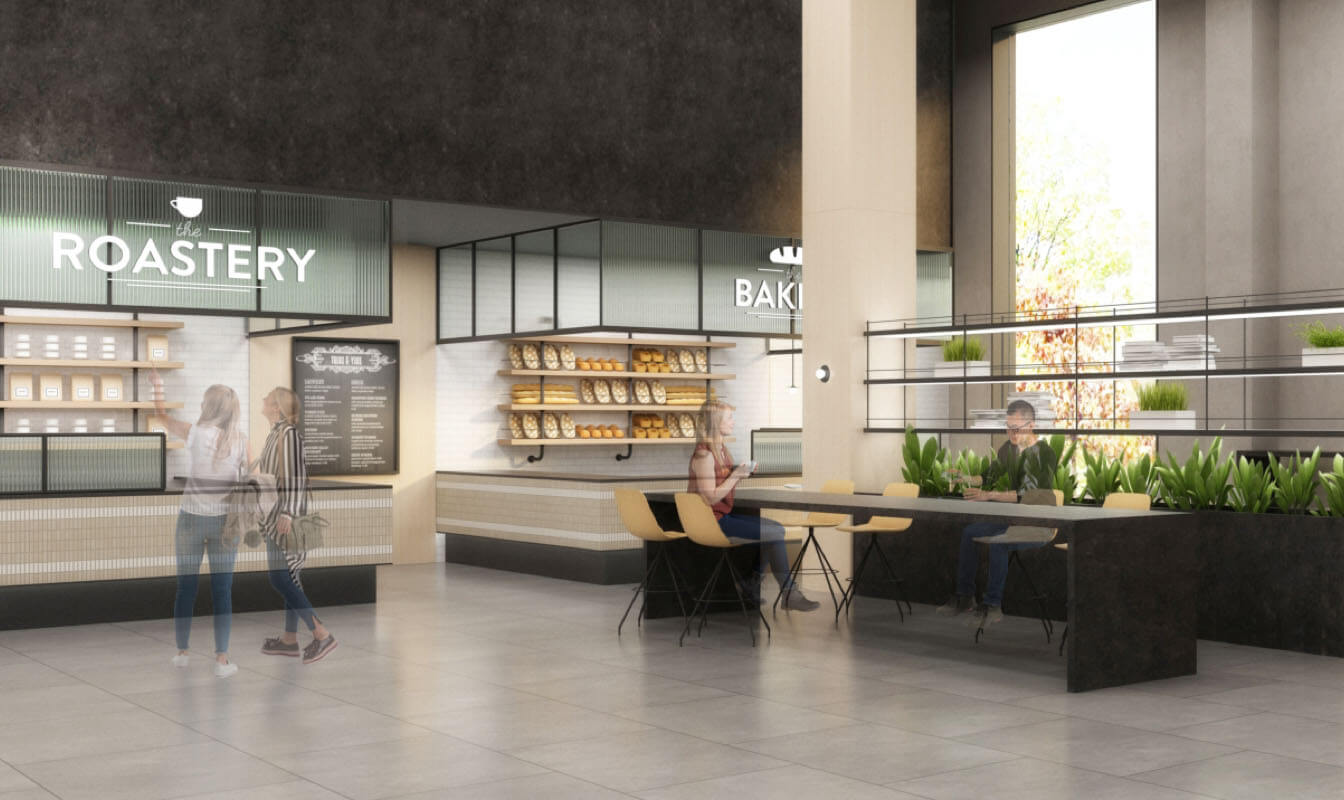 East Retail Space Stack Plan